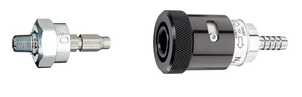 Schrader®-Style Quick Connects | Medical Gas Fittings